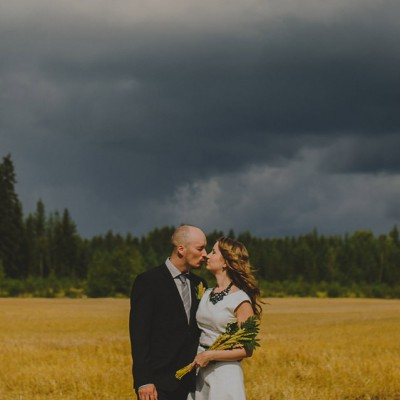 FINLAND WEDDING PHOTOGRAPHER // M + A