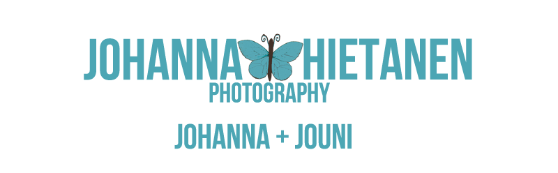 Wedding Photographer | Hkuvaus | Johanna Hietanen Photography logo